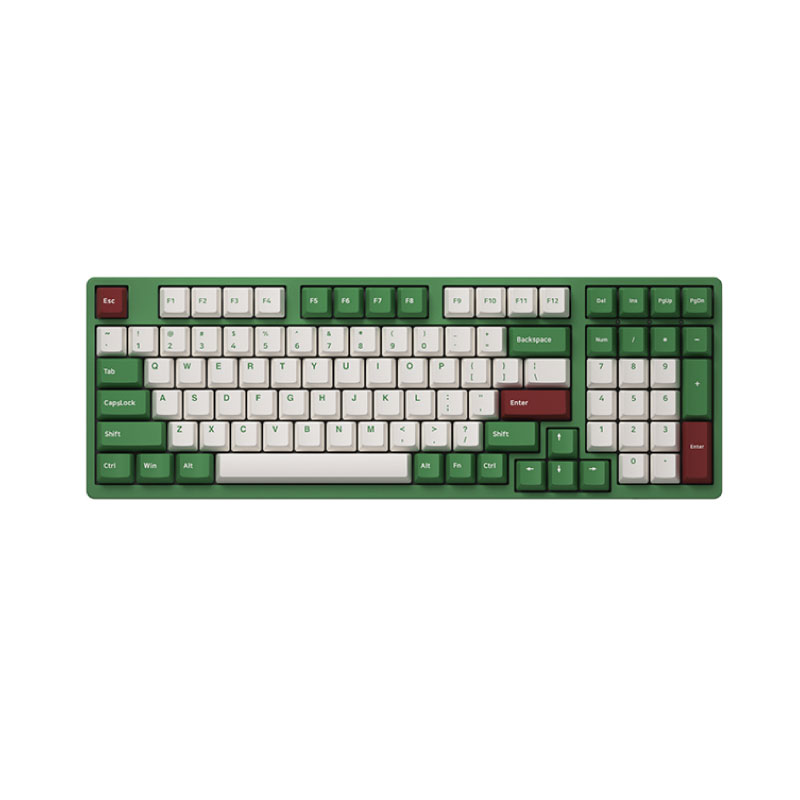 คีย์บอร์ด Akko 3098DS Matcha Red Bean Keyboard Gateron Switch