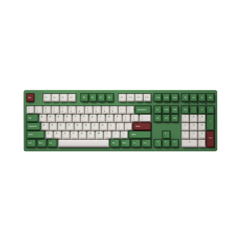 คีย์บอร์ด Akko 3108DS Matcha Red Bean Keyboard Gateron Switch