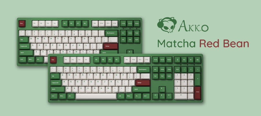 คีย์บอร์ด Akko 3087DS Matcha Red Bean Keyboard Gateron Switch รีวิว