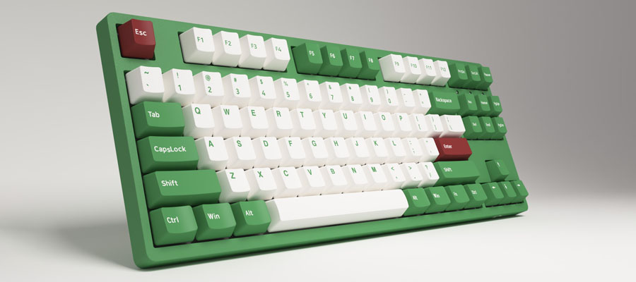 คีย์บอร์ด Akko 3087DS Matcha Red Bean Keyboard Gateron Switch ดีไหม