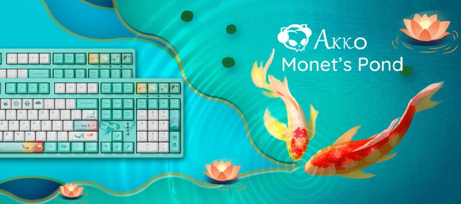 คีย์บอร์ด Akko 3108 Monet's Pond Keyboard Gateron Switch รีวิว