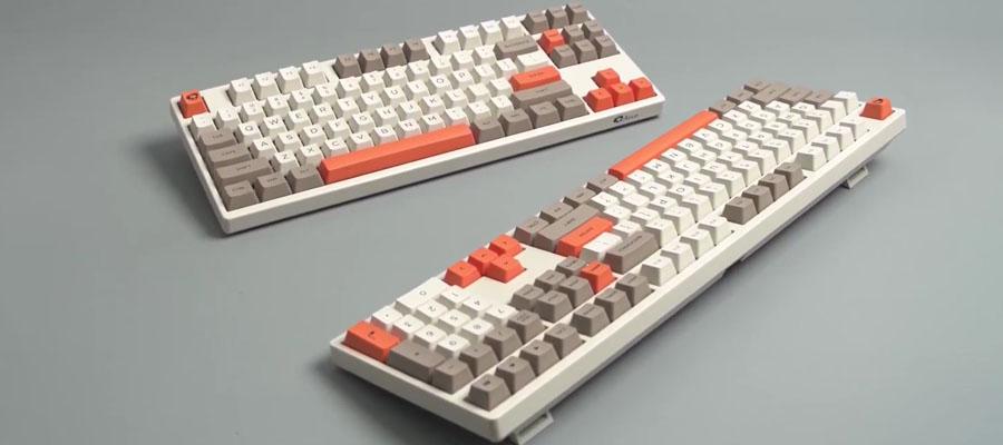 คีย์บอร์ด Akko 3087 Steam Engine Keyboard Gateron Switch การออกแบบ