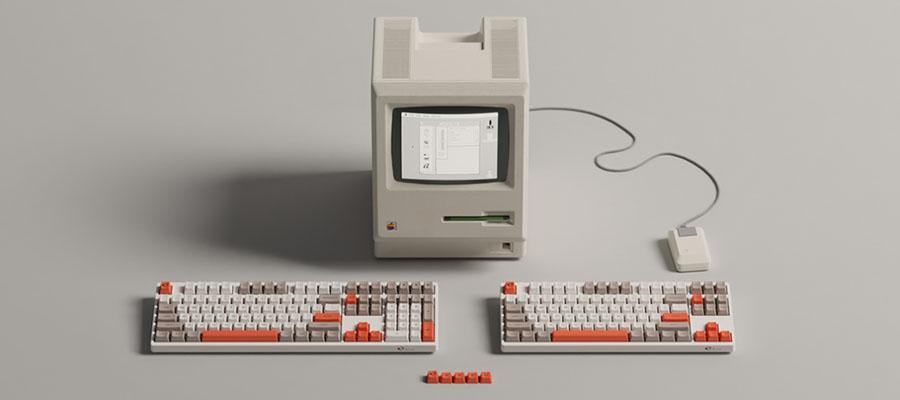คีย์บอร์ด Akko 3108 Steam Engine Keyboard Gateron Switch รีวิว