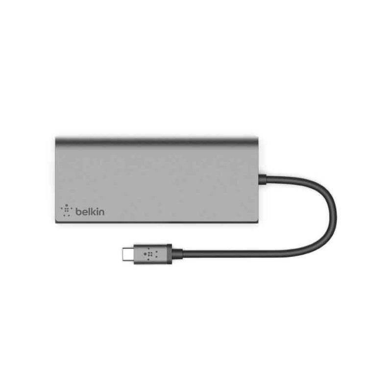 ตัวแปลง Belkin USB-C™ Multimedia Hub Adapter