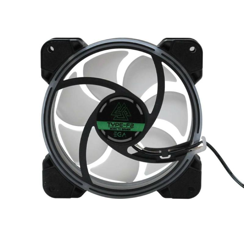 พัดลมระบายความร้อน EGA Type-F2 RGB