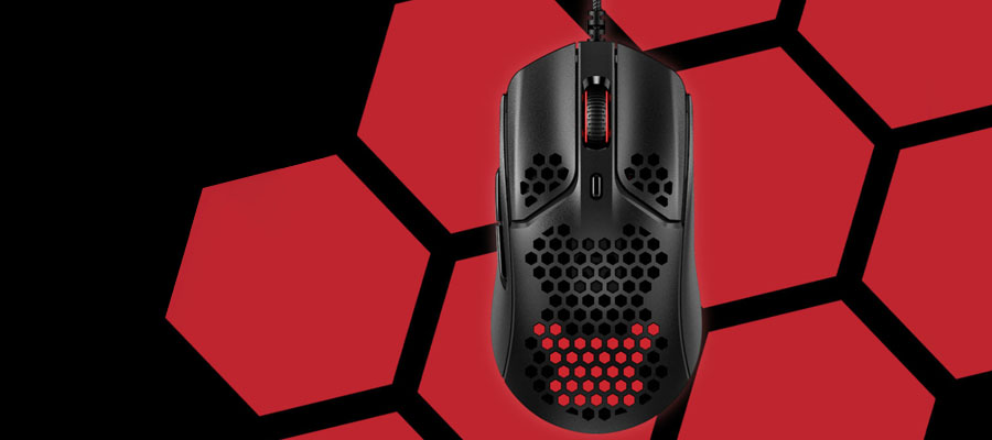 เมาส์ HyperX Pulsefire Haste Gaming Mouse รีวิว