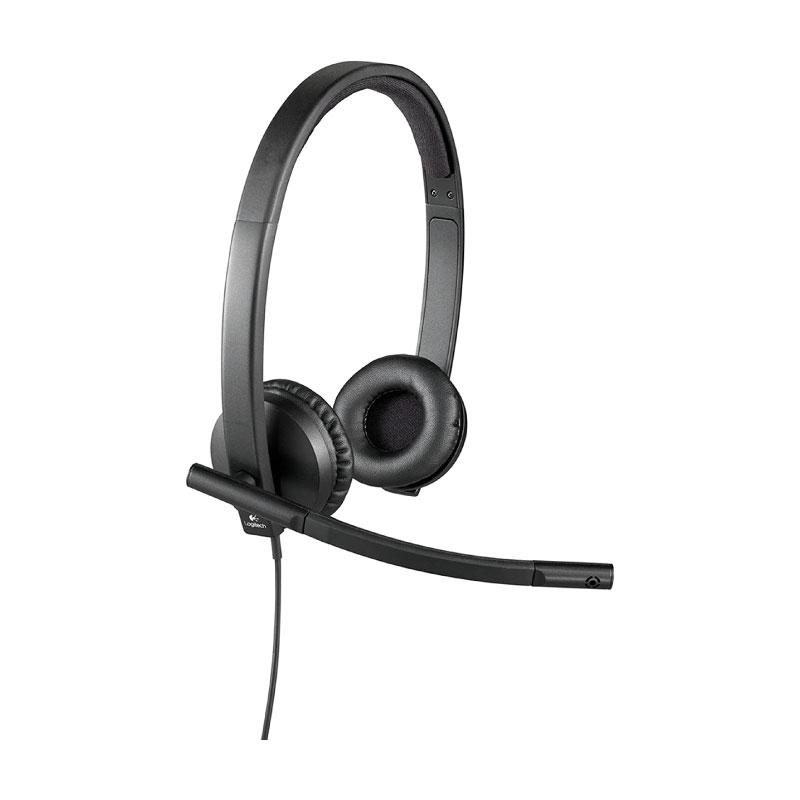 หูฟัง Logitech H570e Stereo Headset