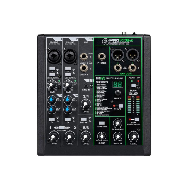Mackie ProFX6v3 Mixer