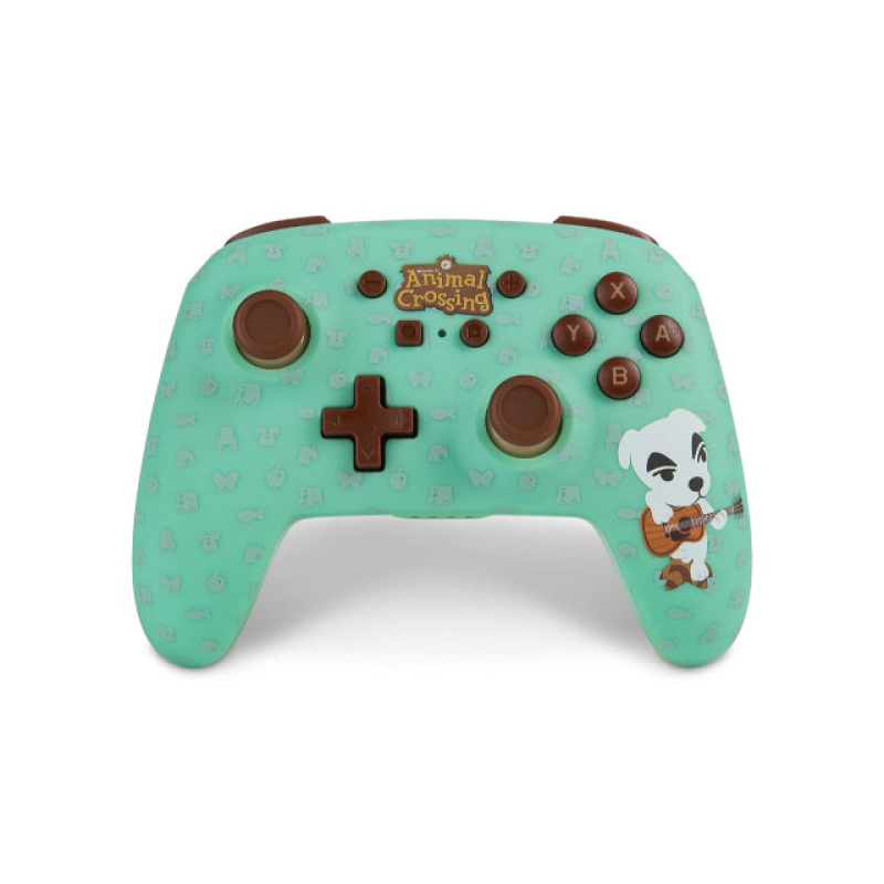 Nintendo POWERA ENHANCED WIRELESS CONTROLLER FOR NINTENDO SWITCH-ANIMAL CROSSING K.K. SLIDER (EURO)