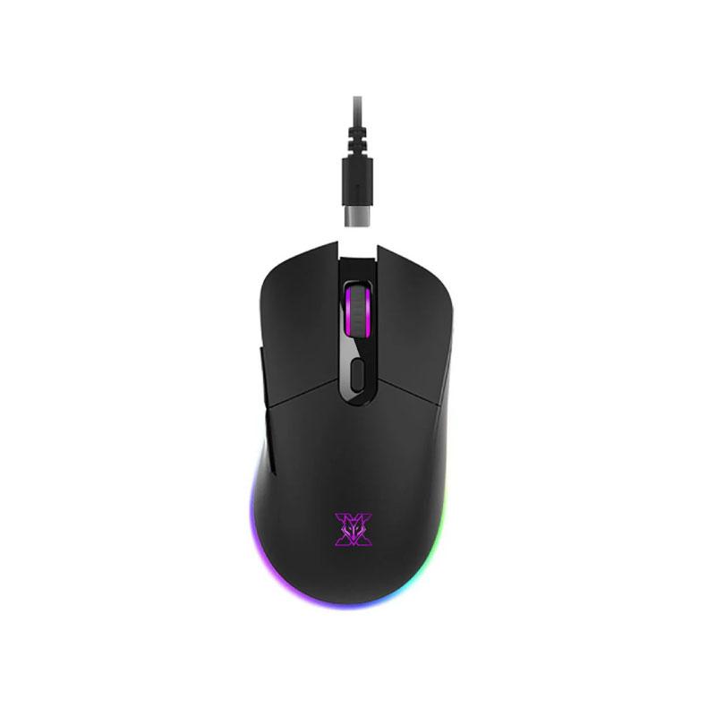 เมาส์ไร้สาย Nubwo X55 Arcadia Wireless Gaming Mouse