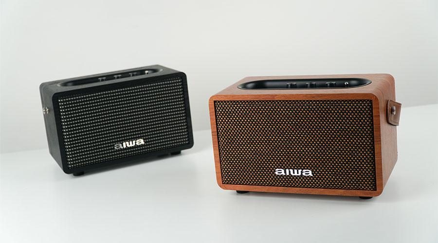 ลำโพงไร้สาย AIWA MI-X100 Retro Bluetooth Speaker ราคา