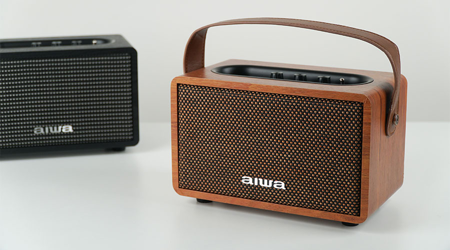 ซื้อ ลำโพงไร้สาย AIWA MI-X100 Retro Bluetooth Speaker