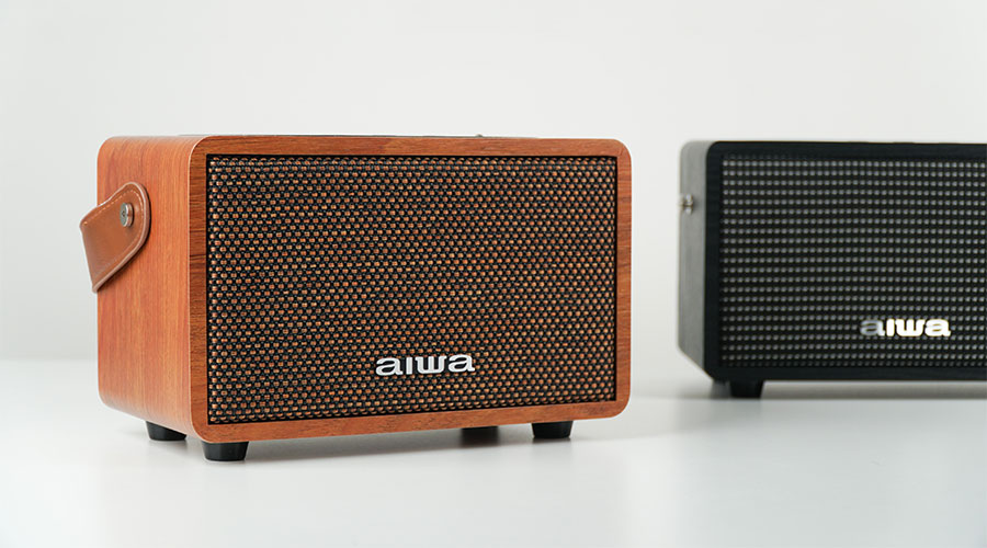 ลำโพงไร้สาย AIWA MI-X100 Retro Bluetooth Speaker ขายดี