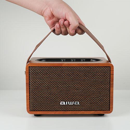 ลำโพงไร้สาย AIWA MI-X100 Retro Bluetooth Speaker ขาย