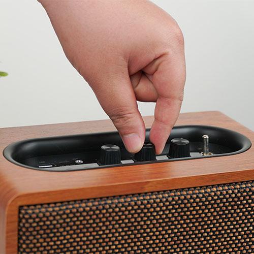 ลำโพงไร้สาย AIWA MI-X100 Retro Bluetooth Speaker คุ้มค่า