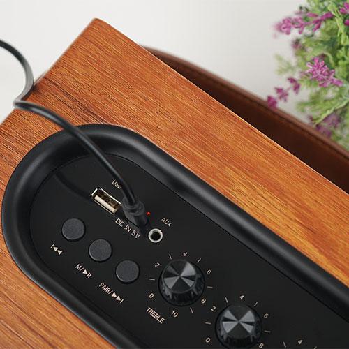 ลำโพงไร้สาย AIWA MI-X100 Retro Bluetooth Speaker เสียงดี
