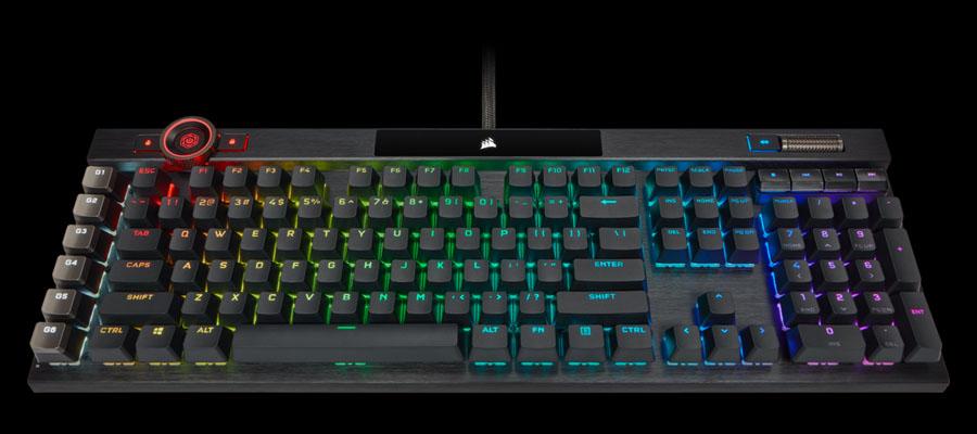 คีย์บอร์ด Corsair K100 RGB Mechanical Keyboard ราคา