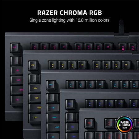 คีย์บอร์ด Razer Cynosa Lite Gaming Keyboard RGB