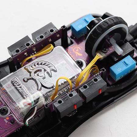 เมาส์ Ducky Feather Gaming Mouse เซนเซอร์