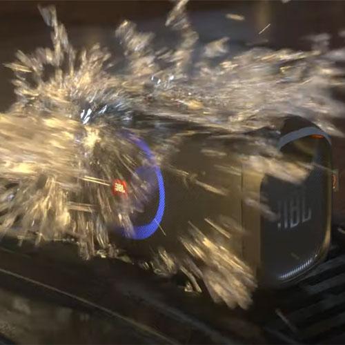 ลำโพงไร้สาย JBL PartyBox On-The-Go Bluetooth Speaker เสียงดี