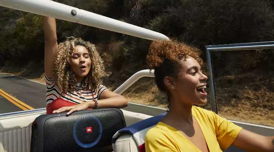 ลำโพงไร้สาย JBL PartyBox On-The-Go Bluetooth Speaker ราคา