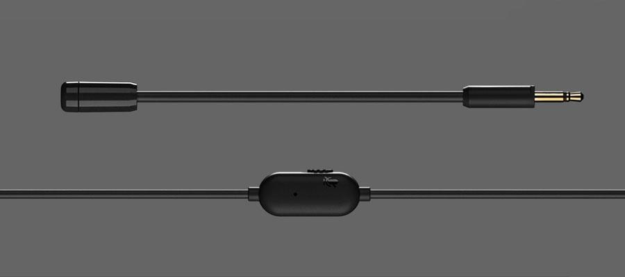 หูฟัง Steelseries TUSQ In-Ear ไมโครโฟน