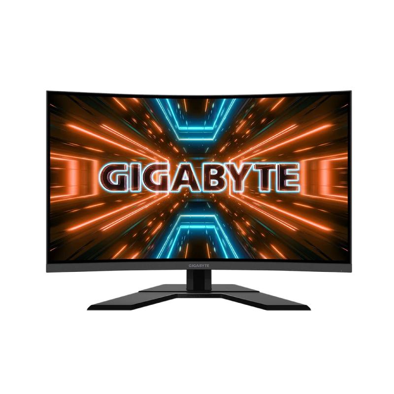 """จอคอม Gigabyte G32QC 31.5"""" VA 2K Curved Monitor 165Hz"""