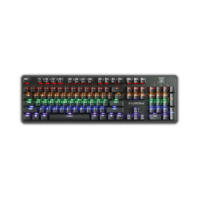 คีย์บอร์ด Nubwo X21 X-Lusion M+ Mechanical Keyboard
