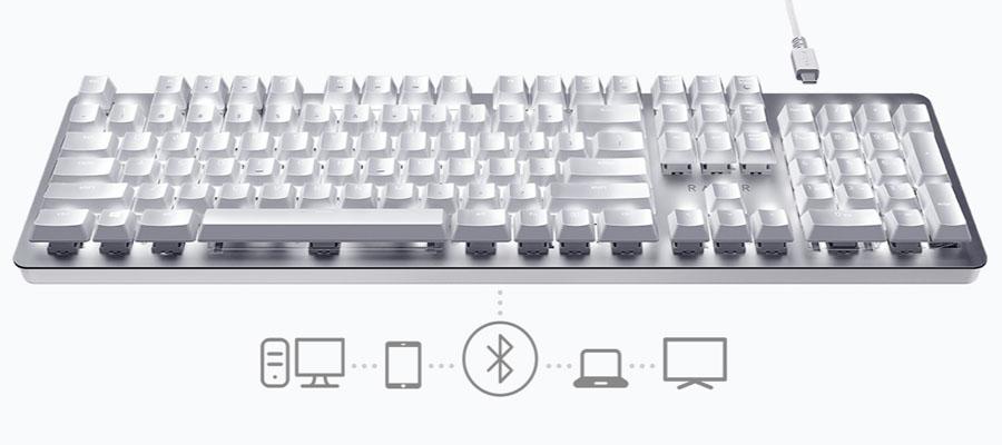 คีย์บอร์ด Razer Pro Type Mechanical Gaming Keyboard การเชื่อมต่อ