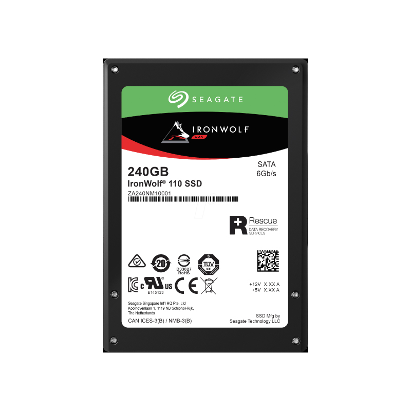 SSD Seagate Ironwolf 110 240GB SATA