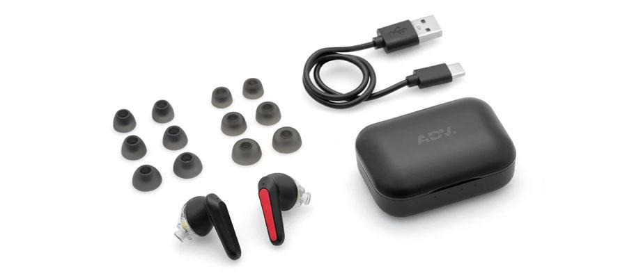 หูฟังไร้สาย Advanced Nismo TWS True Wireless อุปกรณ์ภายในกล่อง