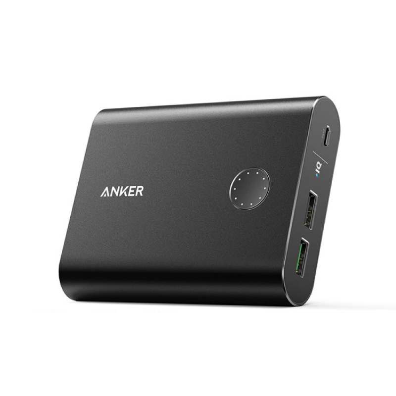 แบตสำรอง Anker PowerCore+ 13400 with Quick Charge 3.0 Power Bank