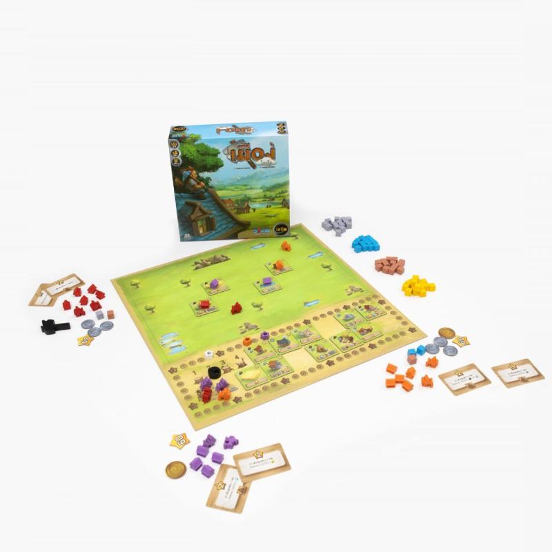 บอร์ดเกม เมืองในฝัน Little Town Board Game