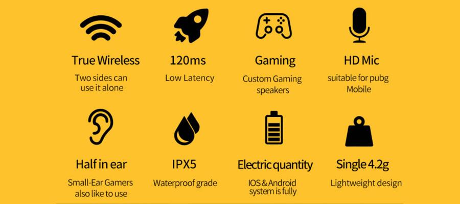 หูฟังไร้สาย Plextone 4Life True Wireless ราคา