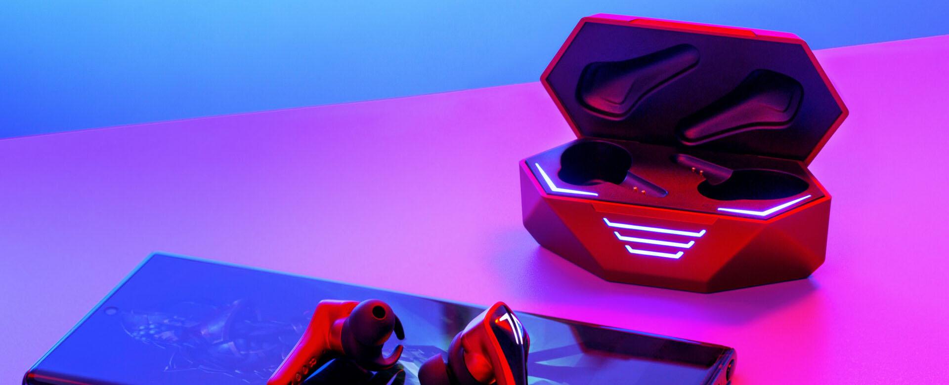 หูฟังไร้สาย Saramonic SR-BH60-B Gaming True Wireless ไม่ ดีเลย์