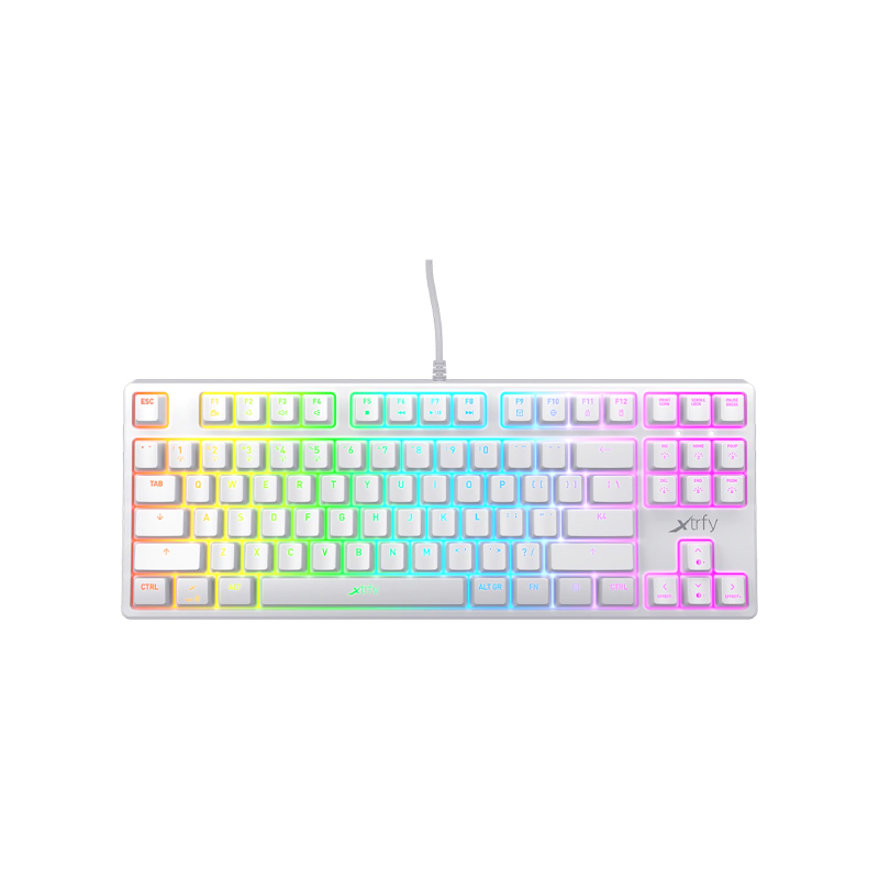 คีย์บอร์ด Xtrfy K4 TKL RGB Mechanical Keyboard TH