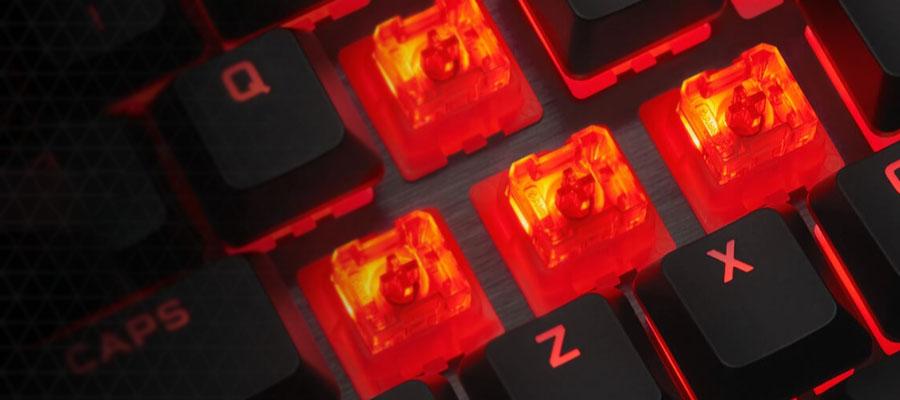 คีย์บอร์ด Corsair K60 Pro Gaming Keyboard สวิตซ์