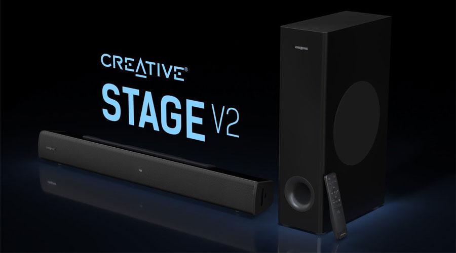 ลำโพง Creative Stage V2 Sound Bar ราคา
