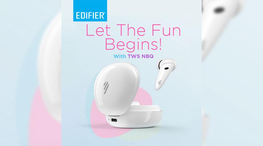 หูฟังไร้สาย Edifier NBQ True Wireless ราคา