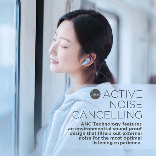 หูฟังไร้สาย Edifier NBQ True Wireless เชื่อมต่อเสถียร