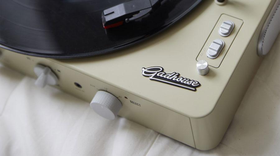 เครื่องเล่นแผ่นเสียง Gadhouse Brad Retro Vintage
