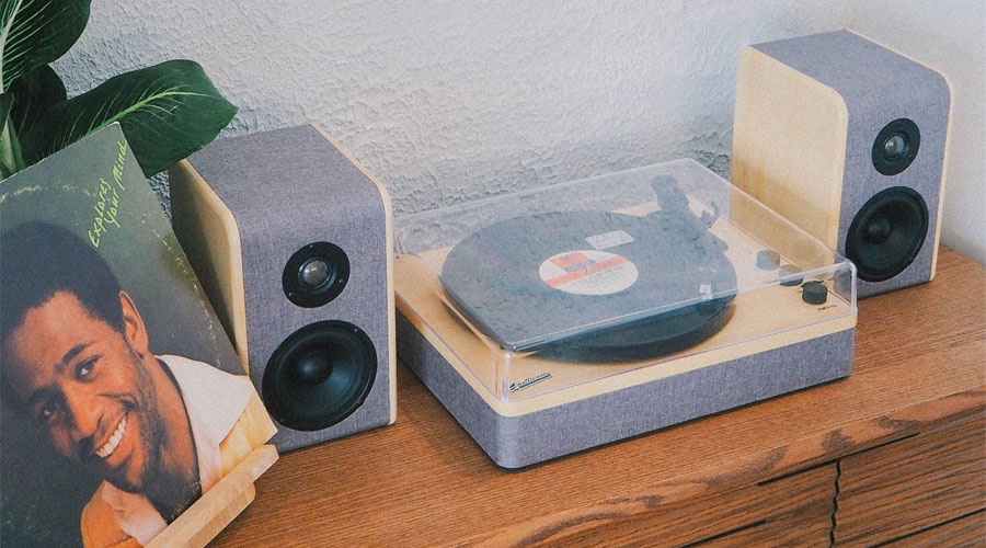 ซื้อ เครื่องเล่นแผ่นเสียง Gadhouse DEAN Turntable Stereo System