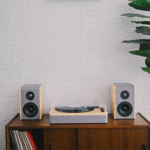 ขาย เครื่องเล่นแผ่นเสียง Gadhouse DEAN Turntable Stereo System