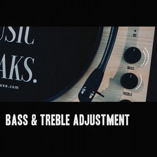 เครื่องเล่นแผ่นเสียง Gadhouse DEAN Turntable Stereo System เร่งความเร็วได้ 3 ระดับ