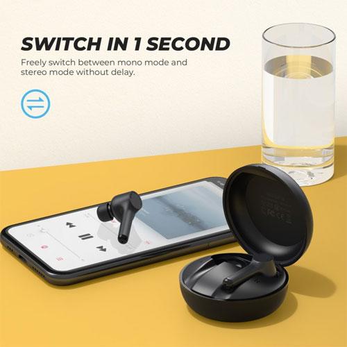 หูฟังไร้สาย SoundPeats MAC True Wireless เสียงดี