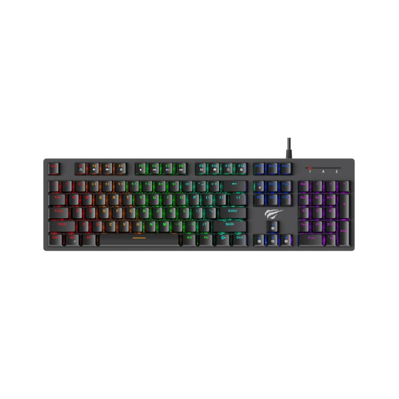 คีย์บอร์ด Havit Gamenote KB858L Mechanical Keyboard