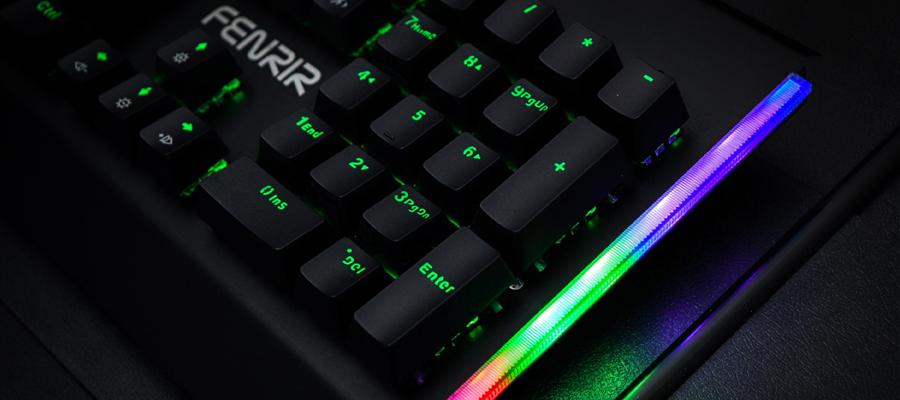 คีย์บอร์ดเกมมิ่ง Nubwo Fenrir X27 Mechanical Keyboard ซื้อ ขาย