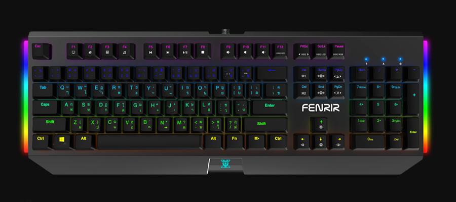 คีย์บอร์ดเกมมิ่ง Nubwo Fenrir X27 Mechanical Keyboard ราคา