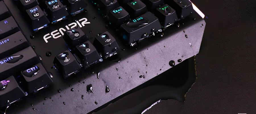 คีย์บอร์ดเกมมิ่ง Nubwo Fenrir X27 Mechanical Keyboard รีวิว กันน้ำ