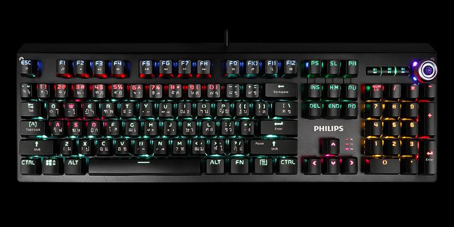 คีย์บอร์ด Philips SPK8601 Mechanical Gaming Keyboard ราคา